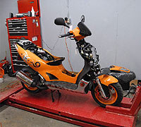 Scooter Service and Repairs at Scooter Underground - Victoria, BC, Canada - www.scooterunderground.ca